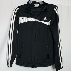 Adidas Black and white Girls Jacket Size Medium